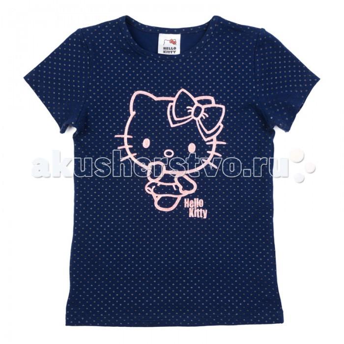 Футболки и топы Playtoday Футболка трикотажная для девочек (футболка) Утро в Париже 682054
