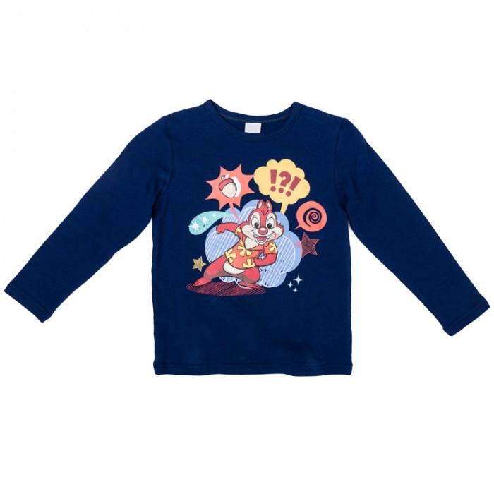 Водолазки и лонгсливы Playtoday Футболка трикотажная для мальчиков Драйв 571052 водолазки и лонгсливы playtoday футболка трикотажная для девочек футболка с длинным рукавом рок принцесса 182020