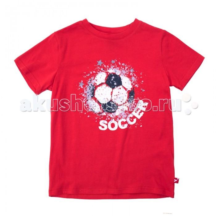 Футболки и топы Playtoday Футболка трикотажная для мальчиков (футболка) Футбольный клуб футболка playtoday футболка
