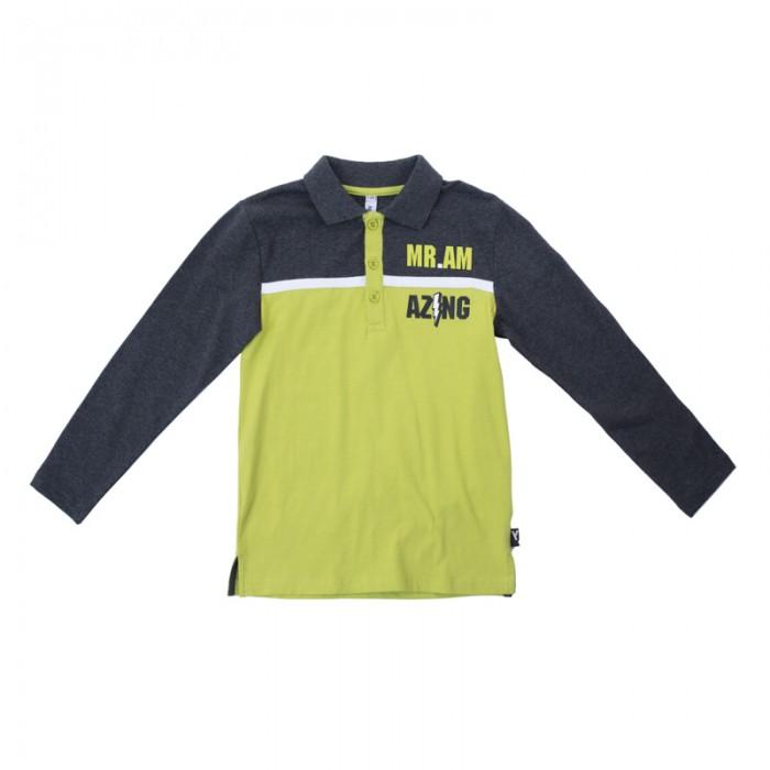 Водолазки и лонгсливы Playtoday Футболка трикотажная для мальчиков (футболка с длинным рукавом) Рок-звезда 181065
