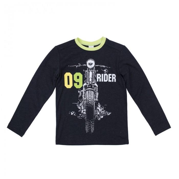 Водолазки и лонгсливы Playtoday Футболка трикотажная для мальчиков (футболка с длинным рукавом) Рок-звезда 181067 футболка с длинным рукавом мужская