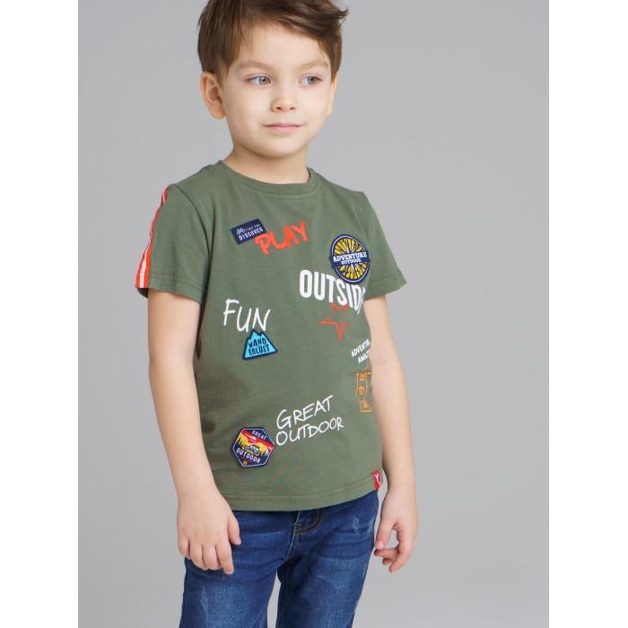 Купить Футболки и топы, Playtoday Футболка для мальчика Adventure 120212016