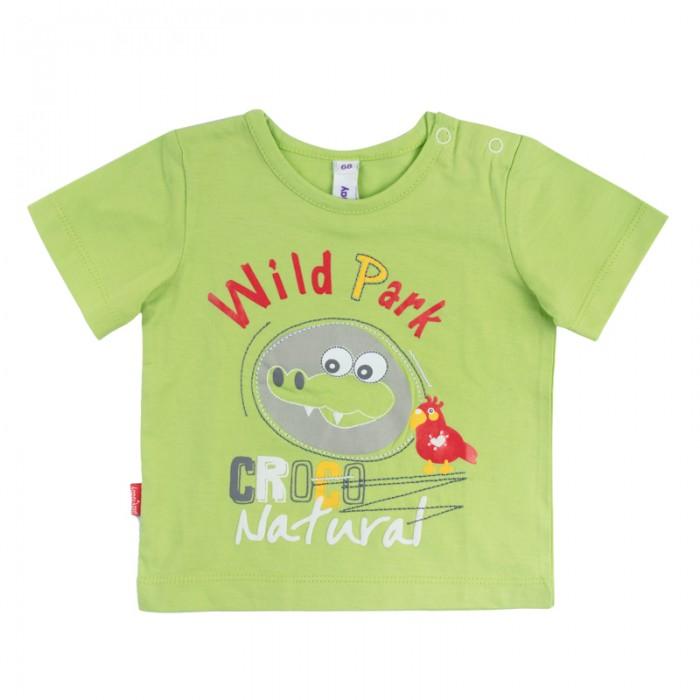 Футболки и топы Playtoday Футболка для мальчика Джунгли зовут! 187066 одежда для детей