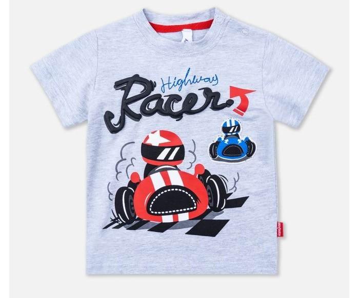 Купить Футболки и топы, Playtoday Футболка для мальчика Racer-boy 397007