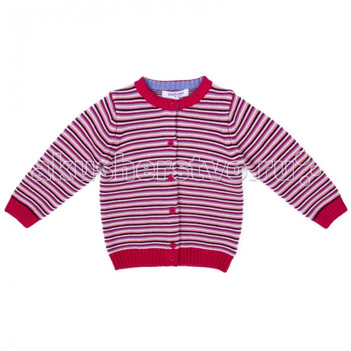 Детская одежда , Кофты и кардиганы Playtoday Кардиган детский трикотажный для девочек Лучшие друзья 378009 арт: 377484 -  Кофты и кардиганы