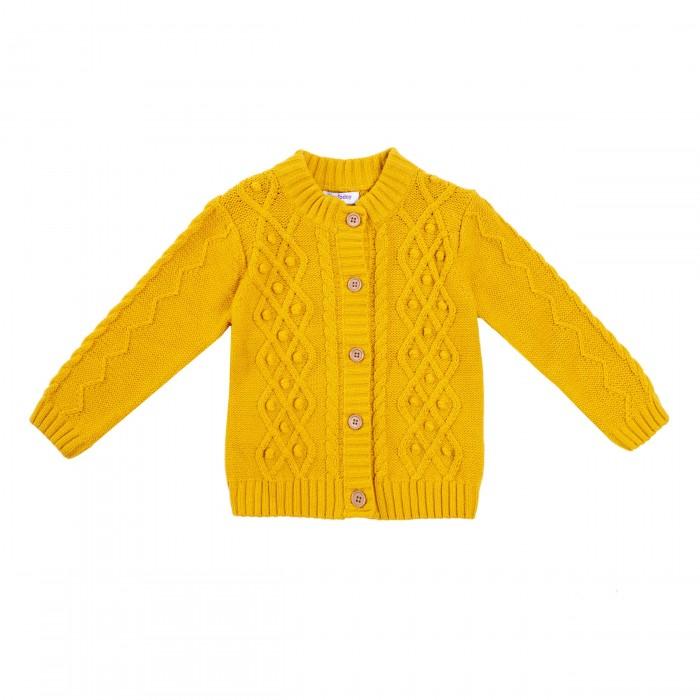 Купить Джемперы и кардиганы, Playtoday Кардиган для девочек Золотой сад 388009