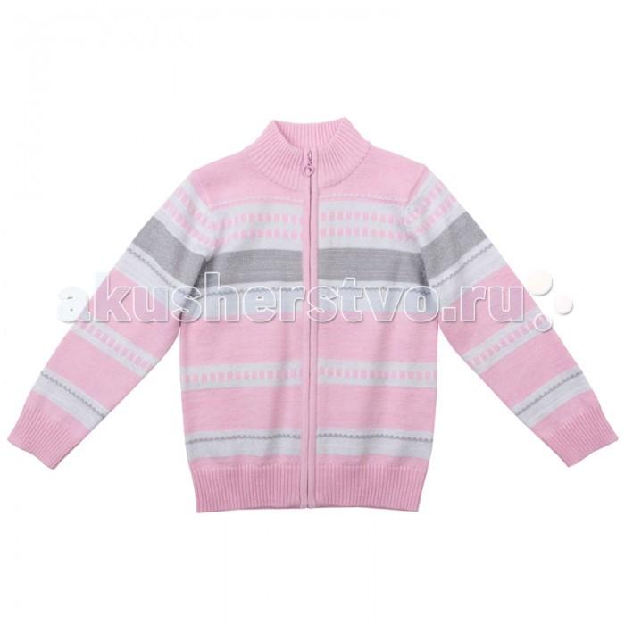 Детская одежда , Кофты и кардиганы Playtoday Кардиган для девочки Яркие штрихи 172056 арт: 350685 -  Кофты и кардиганы