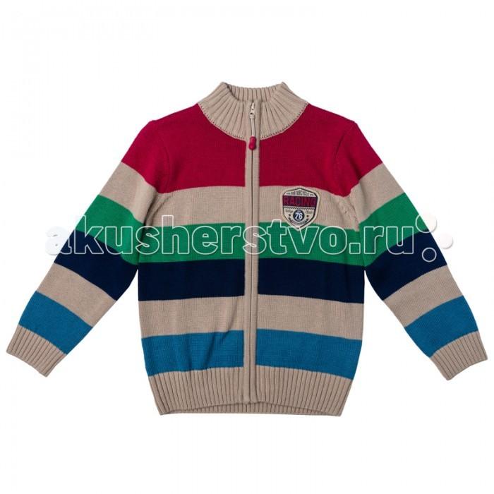 Детская одежда , Кофты и кардиганы Playtoday Кардиган для мальчика Автоклуб 171006 арт: 351690 -  Кофты и кардиганы