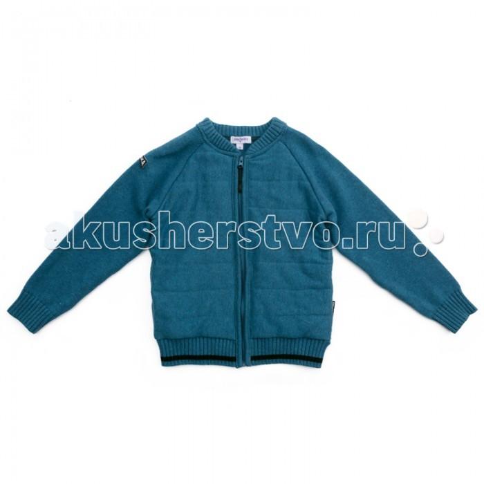 Детская одежда , Кофты и кардиганы Playtoday Кардиган трикотажный для мальчиков Арктика 371106 арт: 365482 -  Кофты и кардиганы