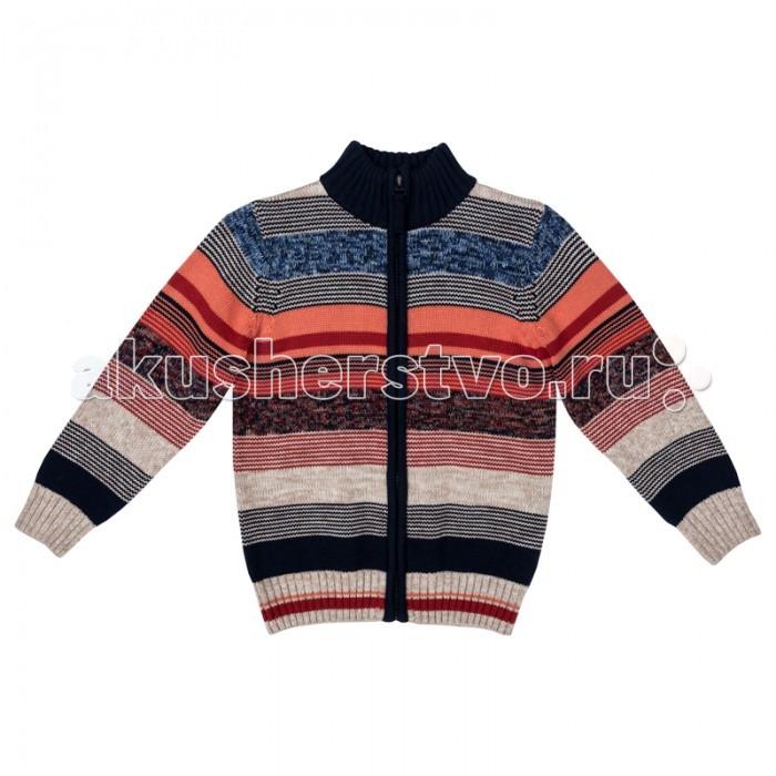 Детская одежда , Кофты и кардиганы Playtoday Кардиган трикотажный для мальчиков Драйв 371058 арт: 368193 -  Кофты и кардиганы