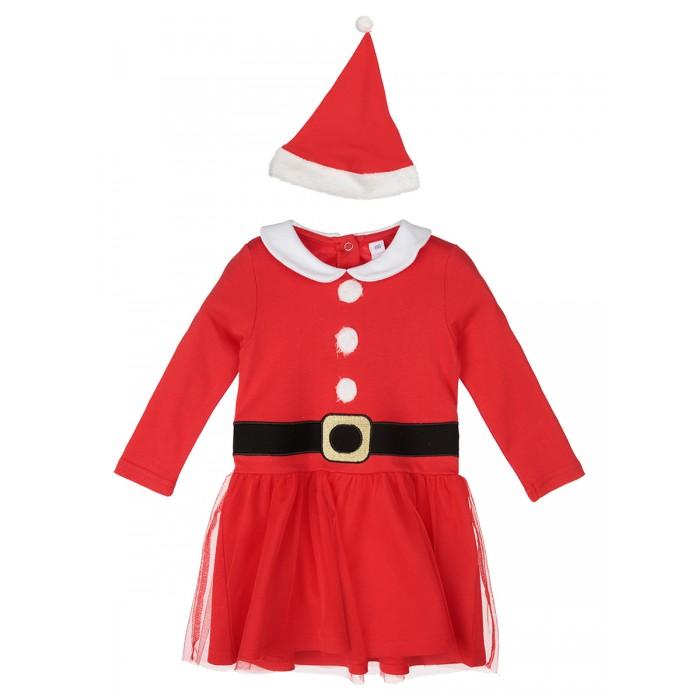 Карнавальные костюмы, Playtoday Карнавальный костюм для девочек (платье и шапочка) 42023003  - купить со скидкой