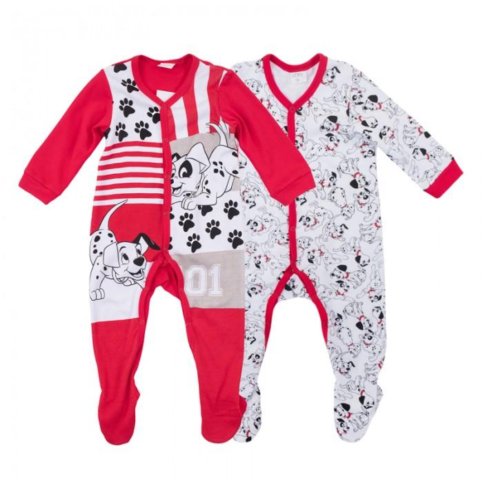 Детская одежда , Комбинезоны и полукомбинезоны Playtoday Комбинезон детский Далматинцы 2 шт. 687804 арт: 452839 -  Комбинезоны и полукомбинезоны