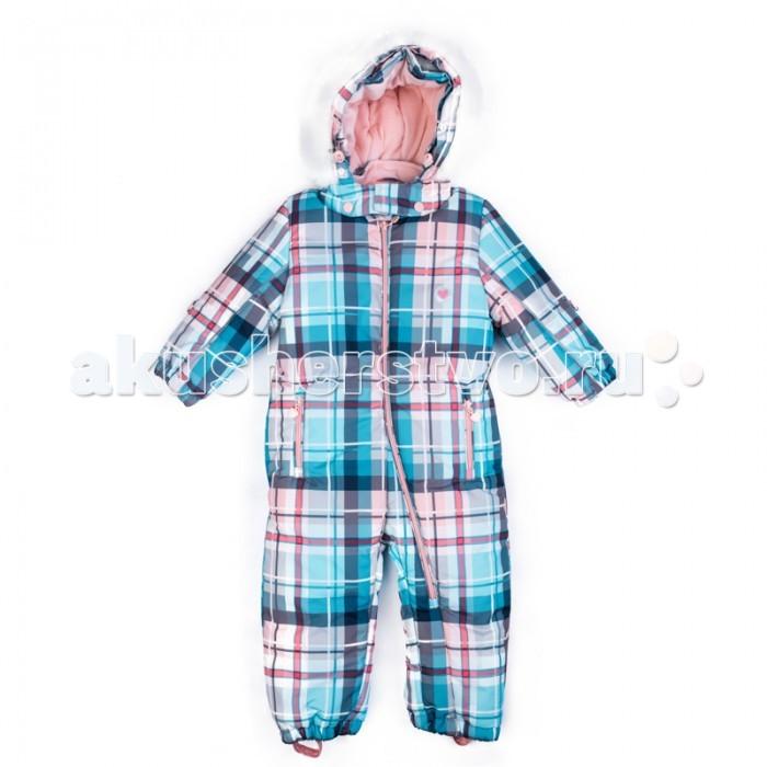 Playtoday Комбинезон детский текстильный для девочек Морозные кружева 378053Комбинезон детский текстильный для девочек Морозные кружева 378053Playtoday Комбинезон детский текстильный для девочек Морозные кружева 378053 из водонепроницаемой ткани.   Асимметричное расположение застежки - молнии позволяет быстро снять и одеть изделие на ребенка. Подкладка из мягкого велюра. На спинке в районе талии модель дополнена широкой резинкой. Светоотражатели обеспечат видимость ребенка в темное время суток.   Капюшон на кнопках, декорирован опушкой из искусственного меха. При необходимости, и капюшон, и опушку можно отстегнуть. Низ штанин дополнен штрипками.<br>