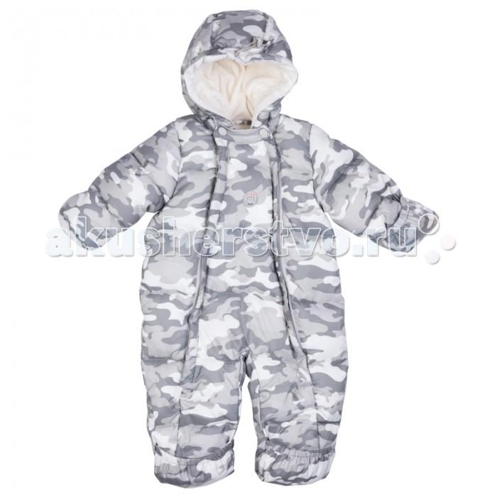 Утепленные комбинезоны и комплекты Playtoday Комбинезон детский текстильный для мальчиков Лесные друзья 377801 playtoday галстук бабочка текстильный для мальчиков 2 шт в комплекте