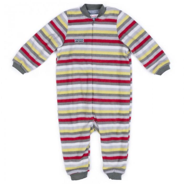 Детская одежда , Комбинезоны и полукомбинезоны Playtoday Комбинезон детский трикотажный для мальчиков Лесные друзья 377803 арт: 376044 -  Комбинезоны и полукомбинезоны