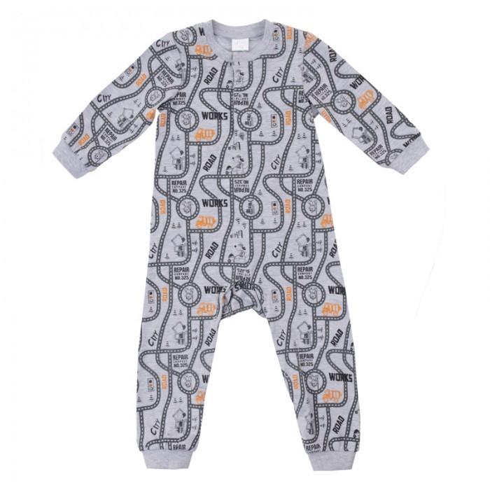 Комбинезоны и полукомбинезоны Playtoday Комбинезон для мальчиков Маленькие строители 187031 одежда для детей