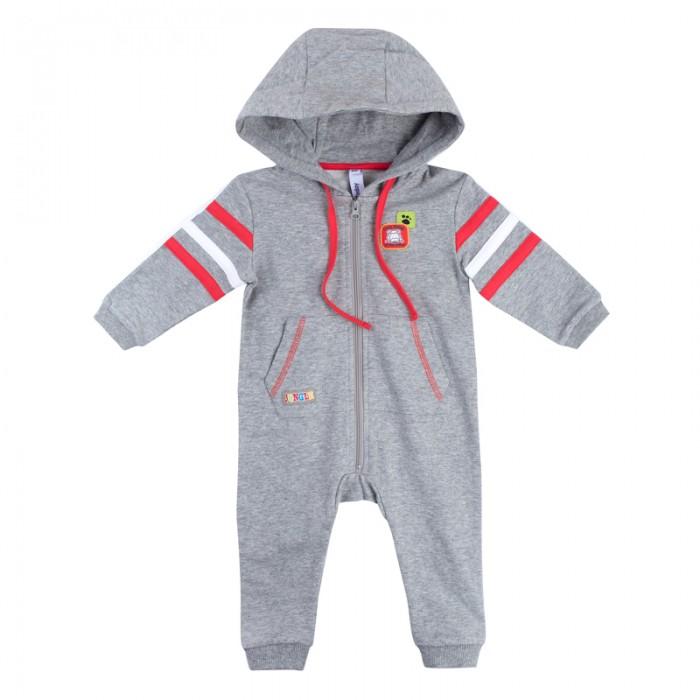 Детская одежда , Комбинезоны и полукомбинезоны Playtoday Комбинезон для мальчиков Веселые джунгли 187856 арт: 454319 -  Комбинезоны и полукомбинезоны