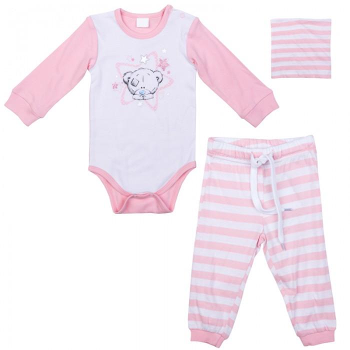 Детская одежда , Комплекты детской одежды Playtoday Комплект для девочек (боди, брюки,шапочка) Сладкая ягодка 578801 арт: 386749 -  Комплекты детской одежды
