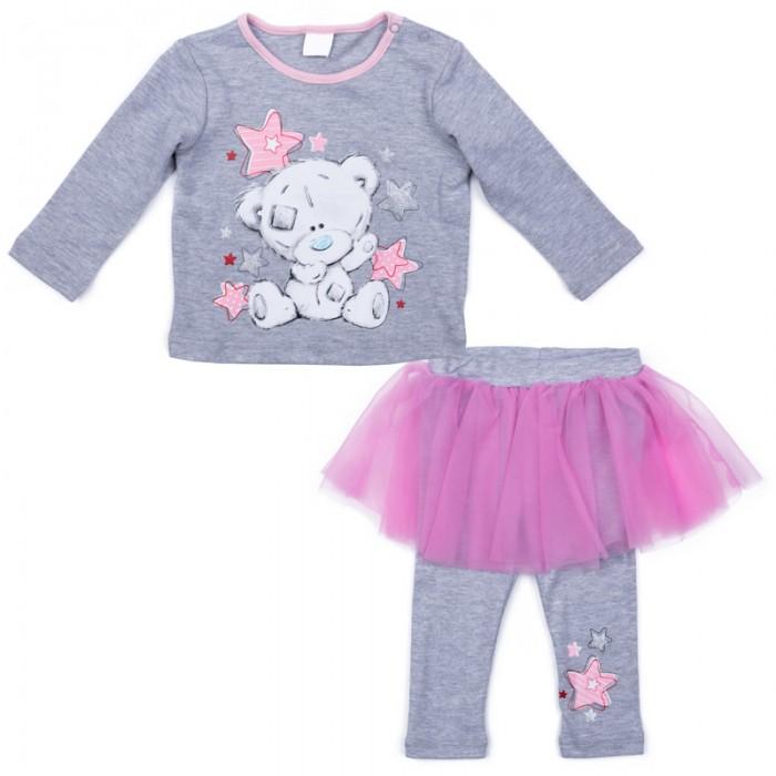 Детская одежда , Комплекты детской одежды Playtoday Комплект для девочек (футболка с длинными рукавами, леггинсы) Сладкая ягодка 578802 арт: 386764 -  Комплекты детской одежды