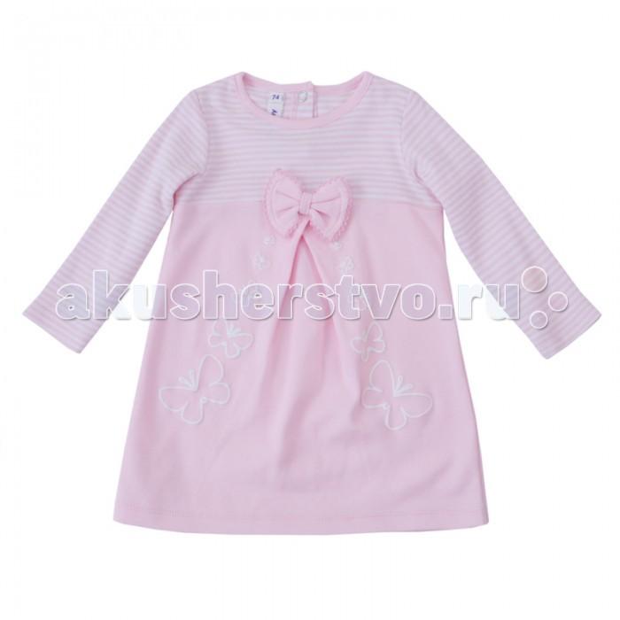 Комплекты детской одежды Playtoday Комплект детский трикотажный для девочек: платье, брюки (леггинсы) Флоранс 188811