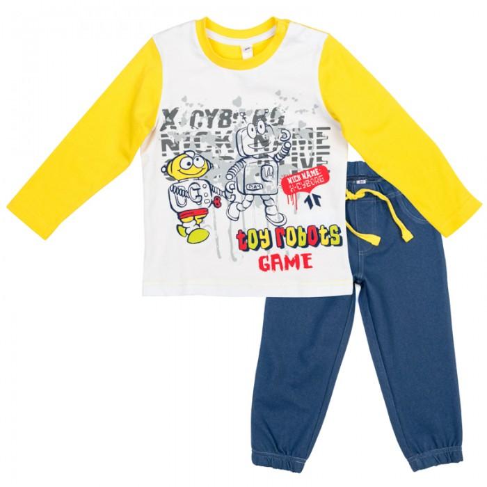 Детская одежда , Комплекты детской одежды Playtoday Комплект детский трикотажный для мальчиков (фуфайка и брюки) Веселый алфавит 377031 арт: 367458 -  Комплекты детской одежды