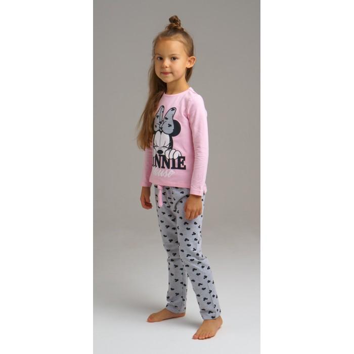 Купить Домашняя одежда, Playtoday Комплект для девочек (фуфайка, брюки) Home kids girls 2020