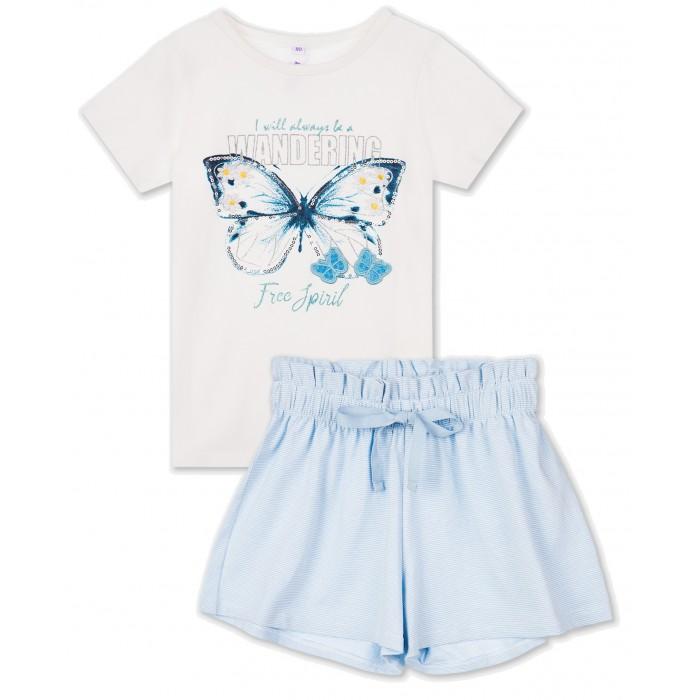 Playtoday Комплект для девочек (футболка, шорты) 220223016 фото