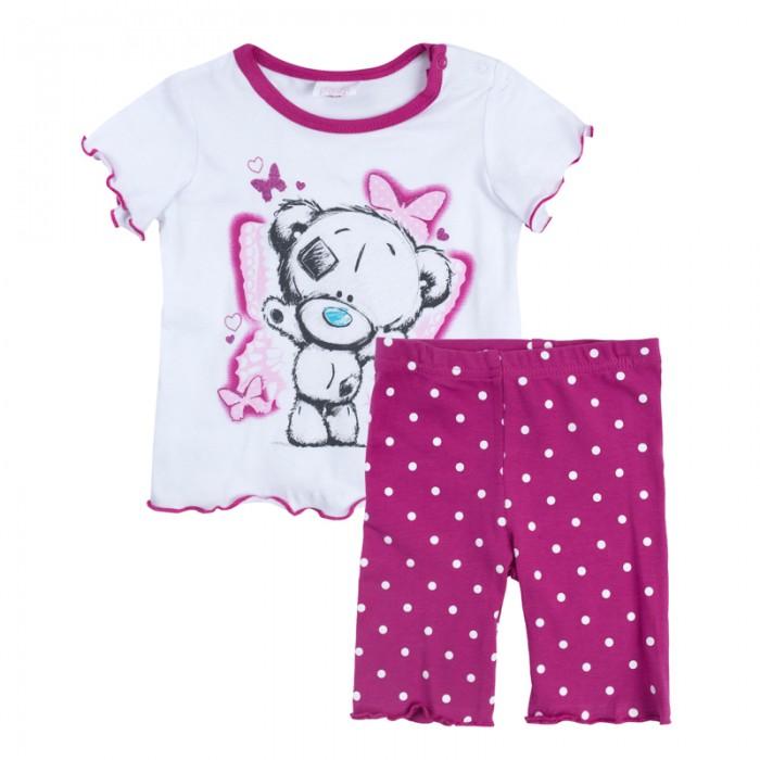 Комплекты детской одежды Playtoday Комплект для девочек (футболка, шорты) Мой цветочек 688852 комплект luisa spagnoli одежда повседневная на каждый день