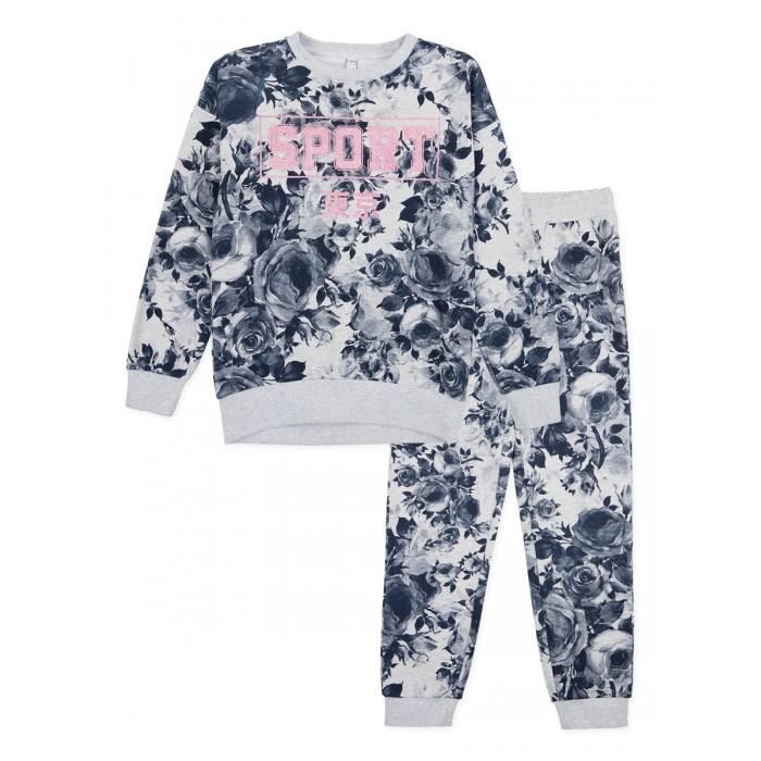 Купить Комплекты детской одежды, Playtoday Комплект для девочек (толстовка, брюки) 120125004