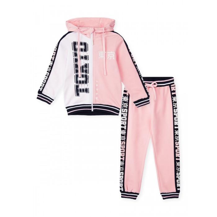 Playtoday Комплект для девочек (толстовка, брюки) 120225003