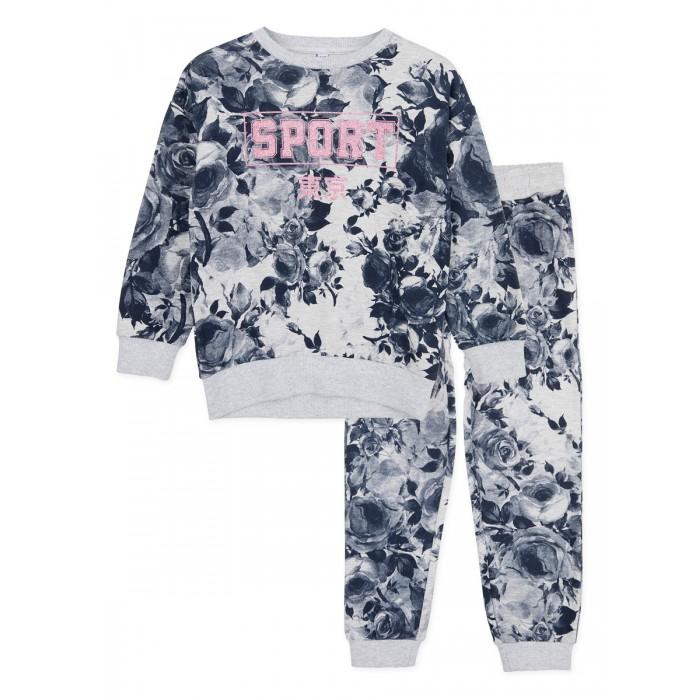 Купить Комплекты детской одежды, Playtoday Комплект для девочек (толстовка, брюки) 120225004
