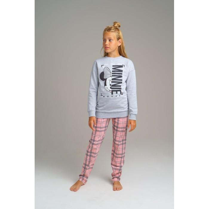 Купить Домашняя одежда, Playtoday Комплект для девочек (толстовка, брюки) Home tween girls 2020