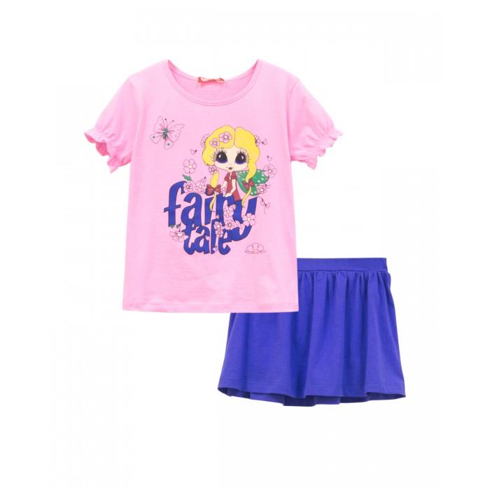 Купить Юбки, Let's Go Комплект для девочки (футболка и юбка) Весна-Лето 4147