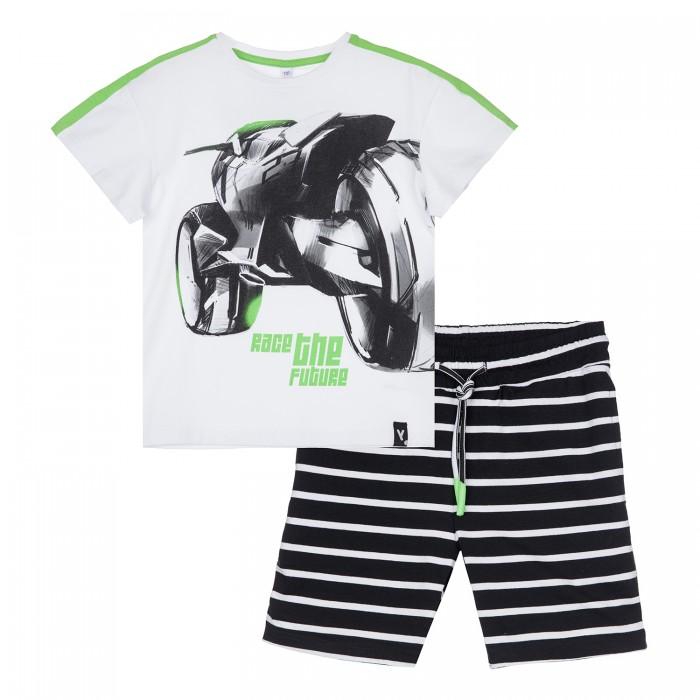 Купить Комплекты детской одежды, Playtoday Комплект для мальчика (футболка и шорты) 12112426