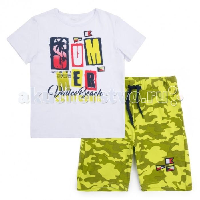 Комплекты детской одежды Playtoday Комплект для мальчика Большая Регата (футболка, шорты), Комплекты детской одежды - артикул:518666