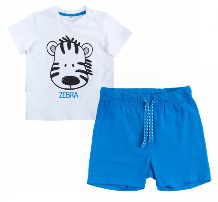 Комплекты детской одежды Playtoday Комплект для мальчика (футболка, шорты) Джунгли зовут! 187063 комплект luisa spagnoli одежда повседневная на каждый день