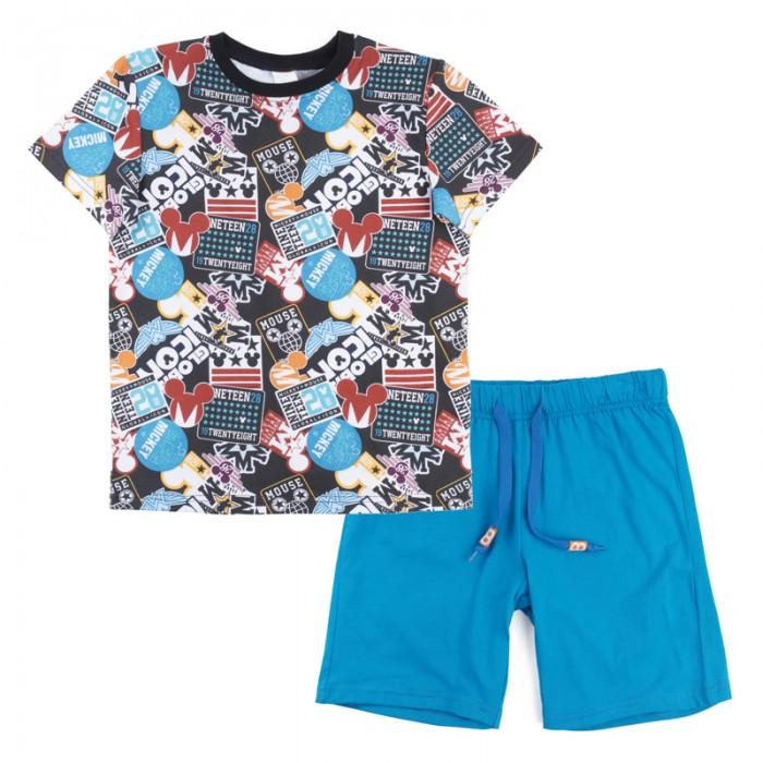 Детская одежда , Комплекты детской одежды Playtoday Комплект для мальчика (футболка, шорты) Летний турнир 680002 арт: 458986 -  Комплекты детской одежды