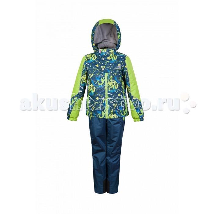 Oldos Комплект для мальчика МарсенКомплект для мальчика МарсенКомплект OLDOS Марсен для мальчика. В непромокаемом костюме из плотной мембранной ткани с водо- грязеотталкивающим покрытием Марсен из коллекции OLDOS ACTIVE Ваш малыш может смело кататься на скейте, велосипеде и роликах, не боясь промокнуть или испачкаться!  С легким современным утеплителем в куртке костюму не страшна небольшая минусовая температура, а множество продуманных полезных деталей: флисовая подкладка, съемный капюшон, карманы на молнии, нашивка-потеряшка, светоотражающие элементы, регулировка на талии и по низу куртки, ветрозащитные муфты в брюках и усиление в местах особого износа – сделают Ваши прогулки дольше, активнее и веселее.  Конструктивные особенности.  Ветрозащитная планка с защитой подбородка. Съемный капюшон, вшита резинка для лучшего прилегания. Воротник-стойка с мягкой флисовой подкладкой. Регулировка по низу куртки. Манжеты на резинке. Карманы на молнии. Внутренний карман с нашивкой-потеряшкой. Брюки без утеплителя, с флисовой подкладкой. Резинка по талии, пояс с внутренней регулировкой объема по талии. Усиления внизу брючин в местах особенного износа. Эластичные, широкие, съемные бретели, регулируемые по длине. Ветрозащитная муфта с антискользящей резинкой.<br>
