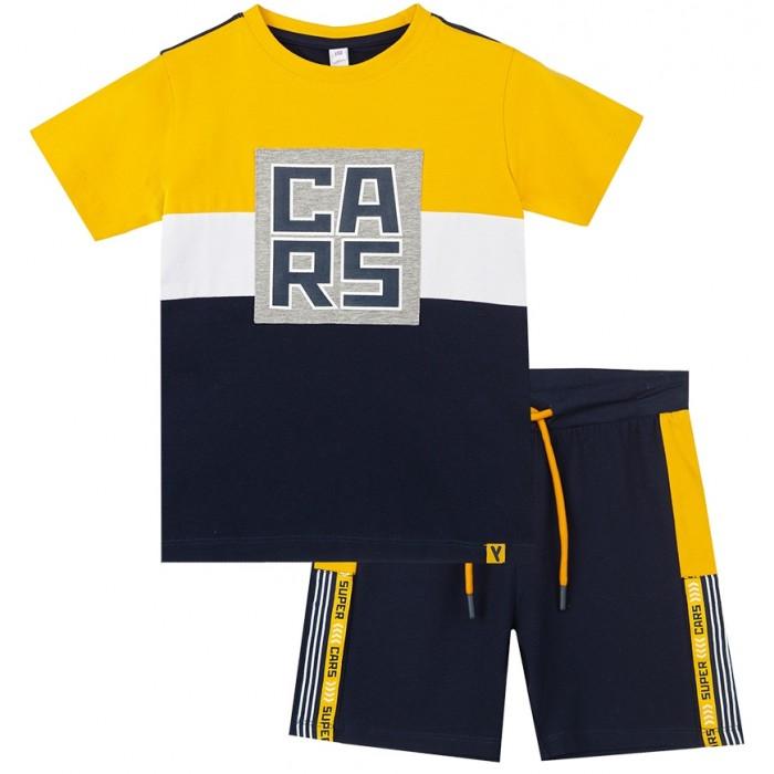 Картинка для Комплекты детской одежды Playtoday Комплект для мальчика Super cars kids boys