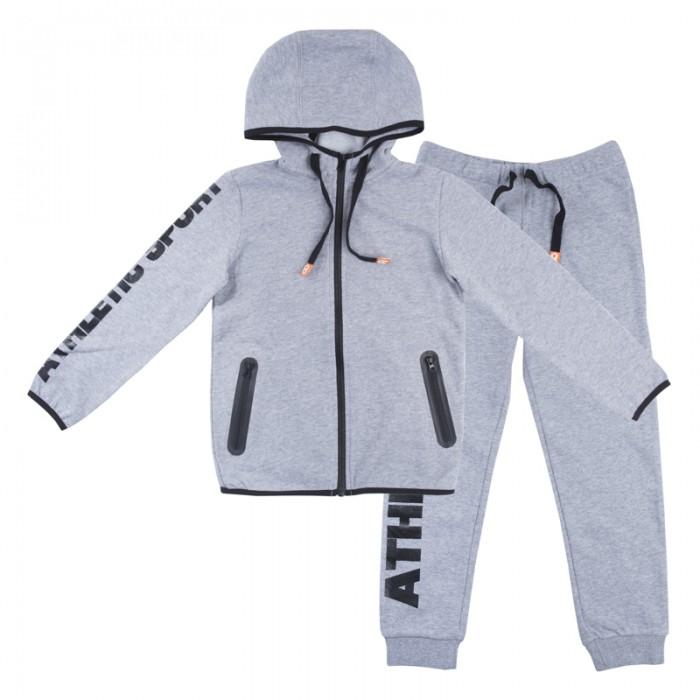 Комплекты детской одежды Playtoday Комплект для мальчика (толстовка, штаны) Летний турнир 180001