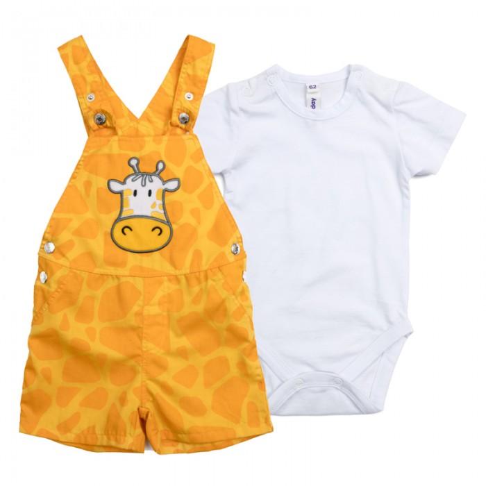 Комплекты детской одежды Playtoday Комплект для мальчиков (боди, полукомбинезон) Веселые джунгли 187852 комплект luisa spagnoli одежда повседневная на каждый день