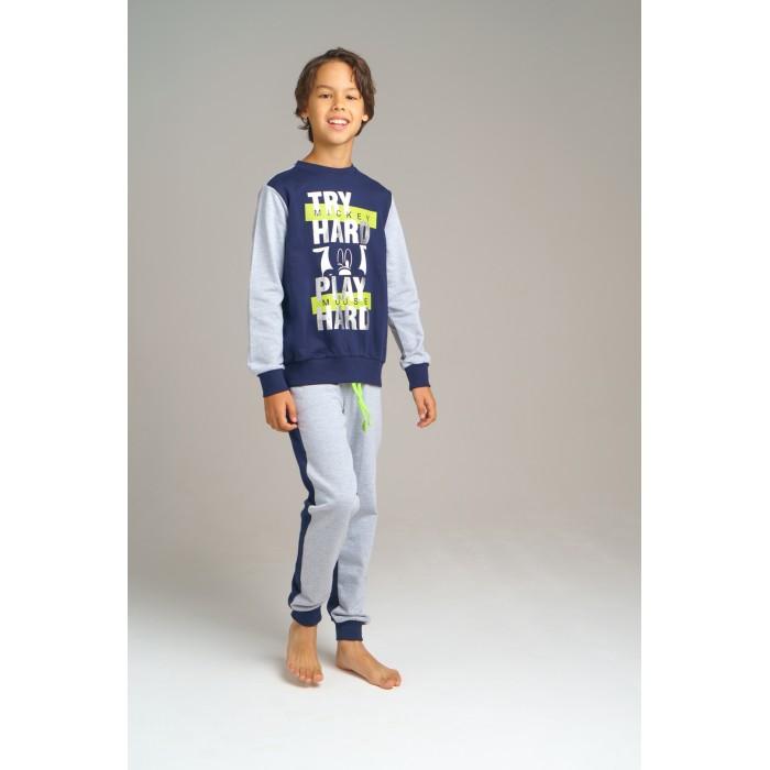 Картинка для Спортивные костюмы Playtoday Комплект для мальчиков (фуфайка, брюки) Home tween boys 2020