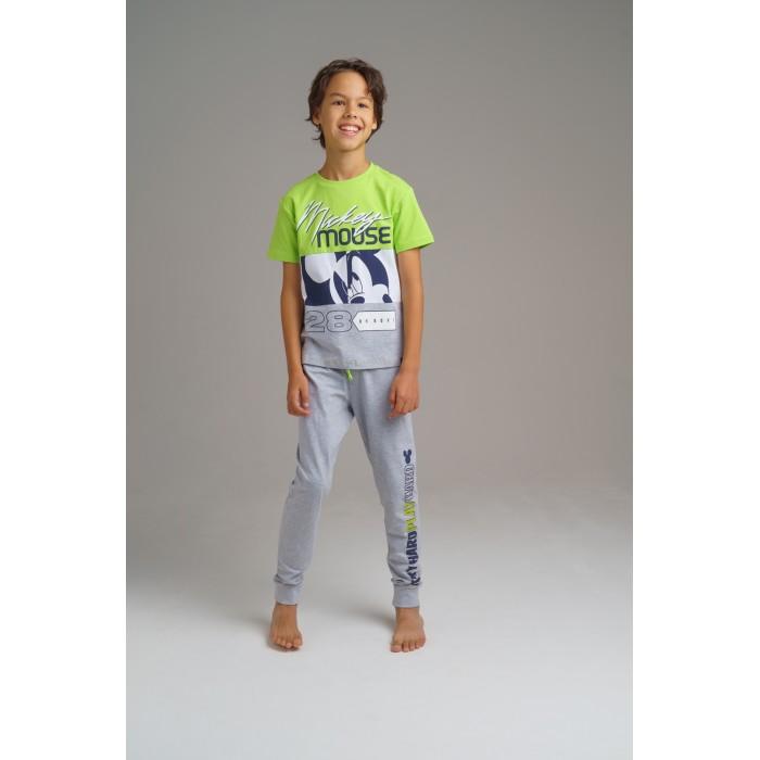 Картинка для Комплекты детской одежды Playtoday Комплект для мальчиков (футболка, брюки) Home tween boys 2020