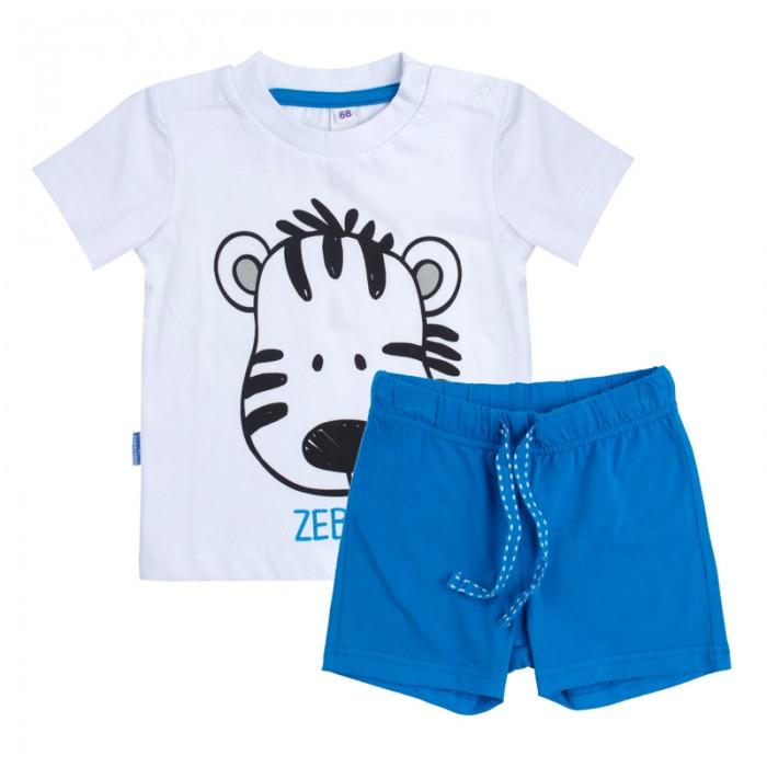 Комплекты детской одежды Playtoday Комплект для мальчиков (футболка, шорты) Веселые джунгли 187861 комплект luisa spagnoli одежда повседневная на каждый день