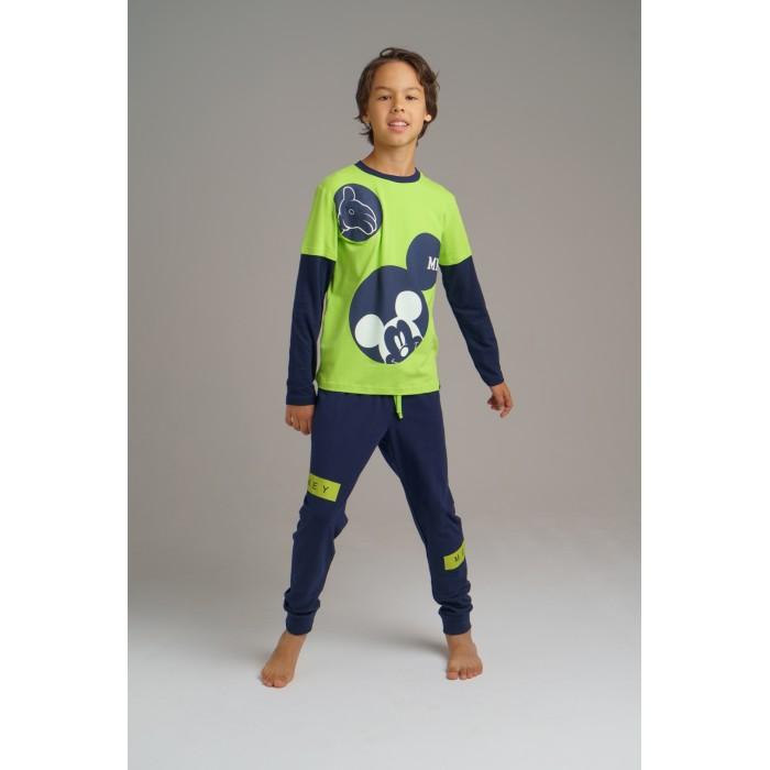 Купить Комплекты детской одежды, Playtoday Комплект для мальчиков (лонгслив, брюки) Home tween boys 2020