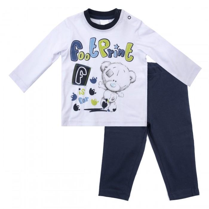 Комплекты детской одежды Playtoday Комплект для мальчиков (лонгслив, брюки) Маленький динозаврик 687802 лонгслив playtoday playtoday mp002xg00740
