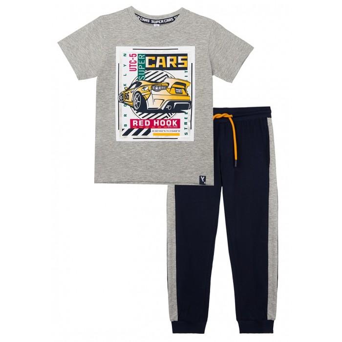 Картинка для Комплекты детской одежды Playtoday Комплект: футболка и брюки Super cars kids boys