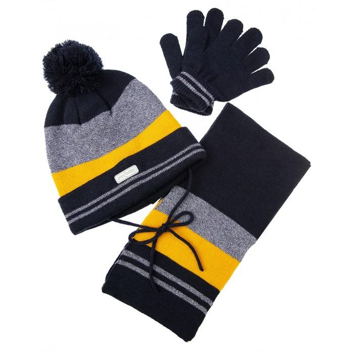 Картинка для Шапки, варежки и шарфы Playtoday Комплект: шапка, шарф, перчатки Super cars kids boys