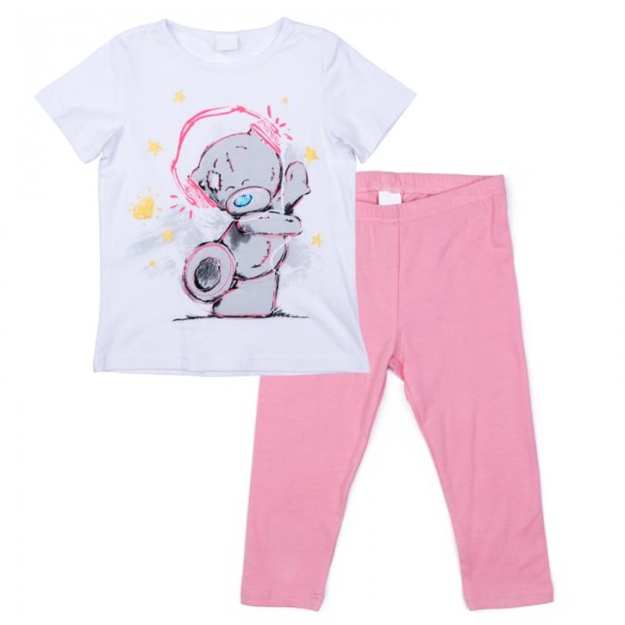 Детская одежда , Комплекты детской одежды Playtoday Комплект трикотажный для девочек (футболка, легинсы) Волшебная страна 576002 арт: 367958 -  Комплекты детской одежды