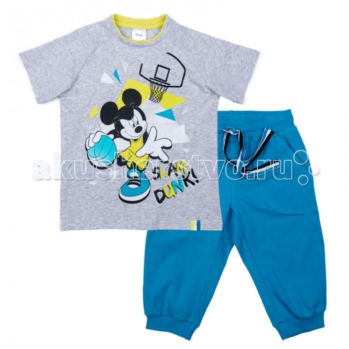 Детская одежда , Комплекты детской одежды Playtoday Комплект трикотажный для мальчиков (футболка, бриджи) Минута славы 570002 арт: 379079 -  Комплекты детской одежды